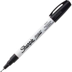 Sharpie® Paint Markers, Oil Base, Extra Fine, Black