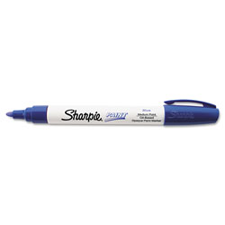 Sharpie® Permanent Paint Marker, Medium Point, Blue