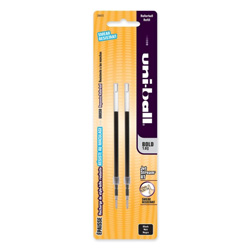 Uni-Ball Refill for uni-ball JetStream RT Pens, Bold, Black Ink, 2/Pack