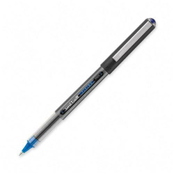 Uni-Ball Vision Roller Ball Stick Waterproof Pen, Blue Ink, Micro, Dozen