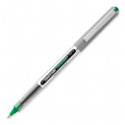 Uni-Ball Vision Roller Ball Stick Waterproof Pen, Evergreen Ink, Fine, Dozen