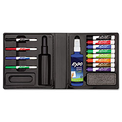 Expo® 12 Marker, Eraser and Cleaner Kit