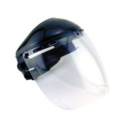 Sas Safety Deluxe Clear Faceshield