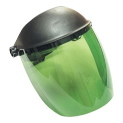Sas Safety Deluxe Faceshield - Dark Green