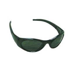 Sas Safety Stingers High Impact Safety Glasses Black Frames/Shaded Lens