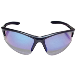Sas Safety DB2 Safety Glasses with Charcoal Frame and Purple Haze Lenses - Clamshell