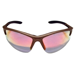 Sas Safety DB2 Safety Glasses with Gold Frame and Iridium Lenses - Polybag