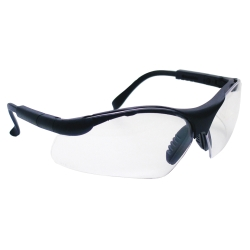Sas Safety SidewindersSafety Glasses - Black Frames/Clear Lens