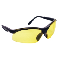 Sas Safety SidewindersSafety Glasses - Black Frames/Yellow Lens