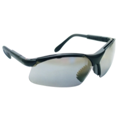 Sas Safety SidewindersSafety Glasses - Black Frames/Silver Lens