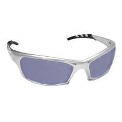 Sas Safety GTR Safety Glases with Silver Frames and Ice Blue Mirror Lens in Polybag