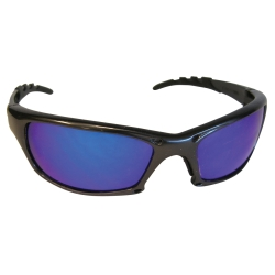 Sas Safety GTR Safety Glasses with Charcoal Frame and Purple Haze Mirror Lens in Polybag