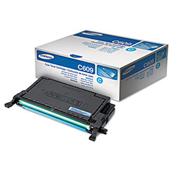 Samsung Toner Cartridge, 7000 Page Yield, Cyan