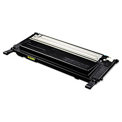 Samsung CLTK409S Toner, 1500 Page-Yield, Black