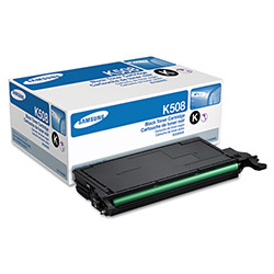 Samsung CLTK508S Toner, 2,500 Page-Yield, Black
