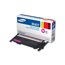 Samsung CLTM407S (CLT-M407S) Toner, 1,500 Page-Yield, Magenta