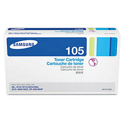 Samsung MLTD105S Toner, 1,500 Page Yield, Black