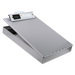 Saunders Aluminum Portable Desktop with Calculator & Storage for 8 1/2 x 12 Forms