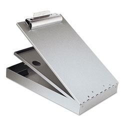Saunders Aluminum Form Holder with Storage for 8 1/2 x 12 Forms