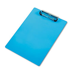 Saunders Acrylic Clipboard, Letter Size, Transparent Blue