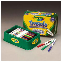Trayola™ Washable Markers