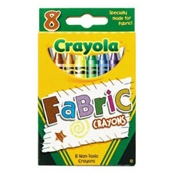 Binney and Smith Fabric Crayons