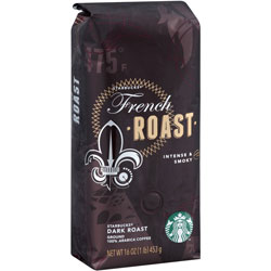 Starbucks 159355 Coffee, French Roast, Regular, 16 Ounces