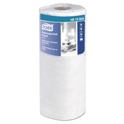 "Tork HB1990A Perforated Paper Roll Towel, 2-Ply, 11"" Width x 9"" Length, White"