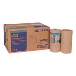 "Tork Universal Perforated Towel Roll, Two Ply, 11""x9"", Natural, 210 per Pack"