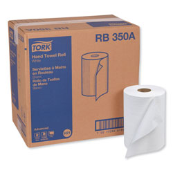 "Tork Bulk Hard Roll Towels, White, 7 7/8""x350', 5.5"" Diameter"