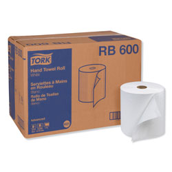 "Tork Advanced Hand Roll Towel, One Ply, White, 7 9/10""x600'"