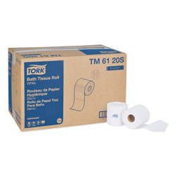 "Tork Advanced TM6120S Bath Tissue Roll, 2-Ply, 4"" Width x 3.75"" Length, White"