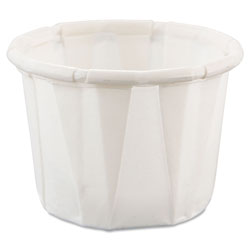 Solo .5 Oz Paper Portion Cup, White