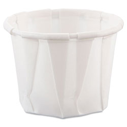 Solo 3/4 Oz Paper Portion Cups, White