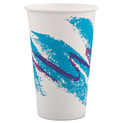 Solo Paper Hot Cups - Plastic Lined 16OZ.