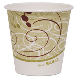 Solo Paper Hot Cups - Single Polylined 10OZ.