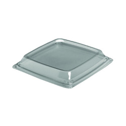 Solo Expressions HF Container Lids, Clear, 8.98w x 8.98d x 1.18h
