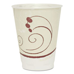 Solo Symphony Design Trophy Foam Hot/Cold Drink Cups, 10 oz