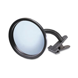 "See All Clip On 7"" Portable Convex Security Mirror"