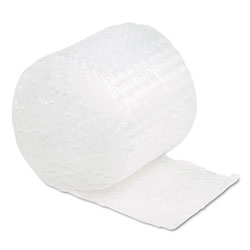 "Bubble Wrap® Cushioning, 1/2"" Bubble, 12""x30' Roll,"