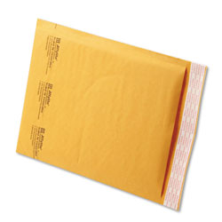 "Paper Jiffylite® Kraft Bubble Mailers, Self Seal Close, Bulk Pack, 8 1/2""x12"", Case of 100"