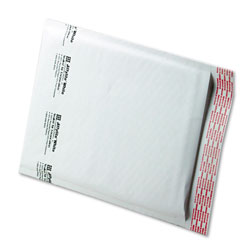 "Paper Jiffylite® Recycled White Bubble Mailer, #2, 8 1/2""x12"", Case of 100"