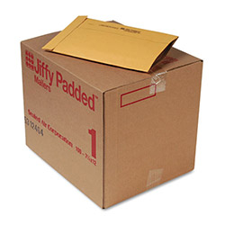 "Paper Jiffy® Recycled Padded Kraft Mailer, Plain Flap, 7 1/4""x12"", Case of 100"