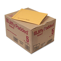 "Paper Jiffy® Recycled Padded Kraft Mailer, Plain Flap, 10 1/2""x16"", Case of 100"