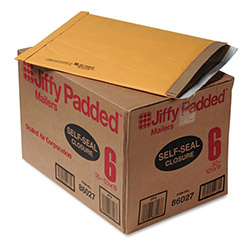 "Paper Jiffy® Recycled Padded Kraft Mailer, Self Seal Flap, 12"" 1/2""x19"", Case of 50"