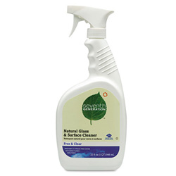 Seventh Generation Free & Clear Natural Glass & Surface Cleaner, 32 Ounce