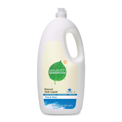 Seventh Generation Natural Dish Washing Liquid Cleaner, 48 Ounce