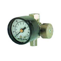 Sharpe Air Adjusting Regulator w/Gauge 0 160psi 24AAV