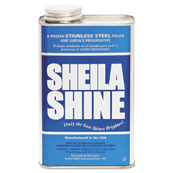 Sheila Shine Stainless Steel Cleaner & Polish, Gallon Can