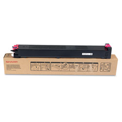 Sharp MX31NTMA Toner, 15,000 Page-Yield, Magenta
